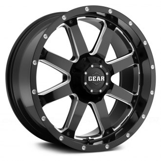 GEAR ALLOY® - 726MB Big Block Gloss Black with Milled Accents