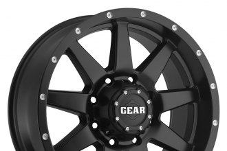 GEAR ALLOY® - 728B OVERDRIVE Satin Black