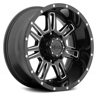 GEAR ALLOY® - 737BM CHALLENGER Gloss Black with CNC Milled Accents