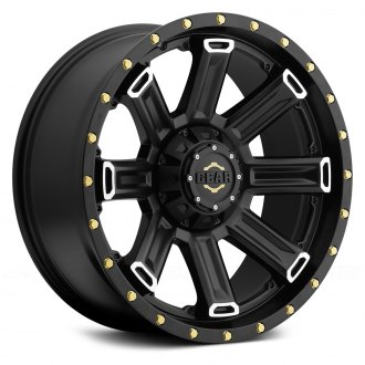 GEAR ALLOY® - 738MB SWITCHBACK Satin Black with Mirror Machined Accents