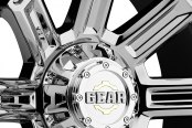 GEAR ALLOY® - 738V SWITCHBACK Bright PVD Close-Up
