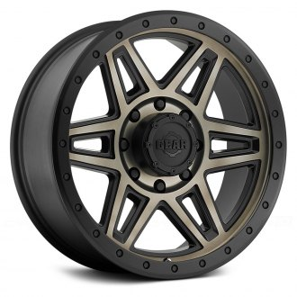 GEAR ALLOY® - 739BZ ENDURANCE Satin Black with Matte Bronze Center