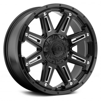 GEAR ALLOY® - 741BM MECHANIC Gloss Black with Milled Accents