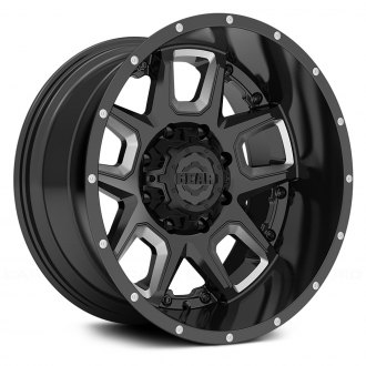 GEAR ALLOY® - 743BM ARMOR Gloss Black with Machined Accents