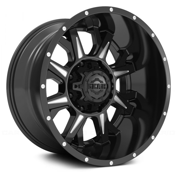 GEAR ALLOY® - 742BM KICKSTAND Satin Black with Machined Accents