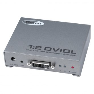 Gefen® - 1:2 Dual Link DVI Distribution Amplifier