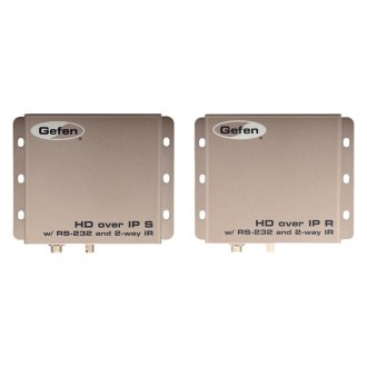 Gefen® - HDMI Over IP with RS-232 and Bi-Directional IR-Sender