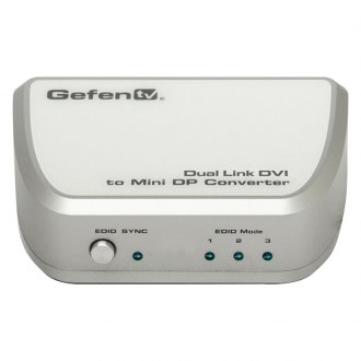 Gefen® - Dual Link DVI to Mini DP Converter