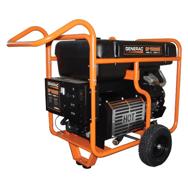 Generac® 5734 - GP Series 15 kW Electric-Manual Start Portable Generator