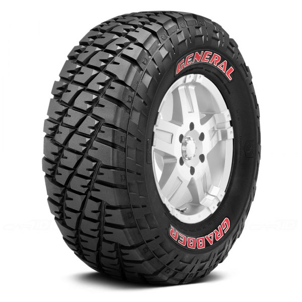 GENERAL® - GRABBER with Red Sidewall Tire Protector