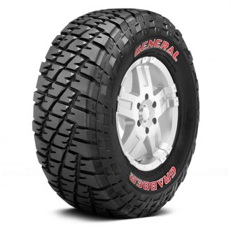 GENERAL TIRE® - GRABBER with Red Sidewall Tire Protector