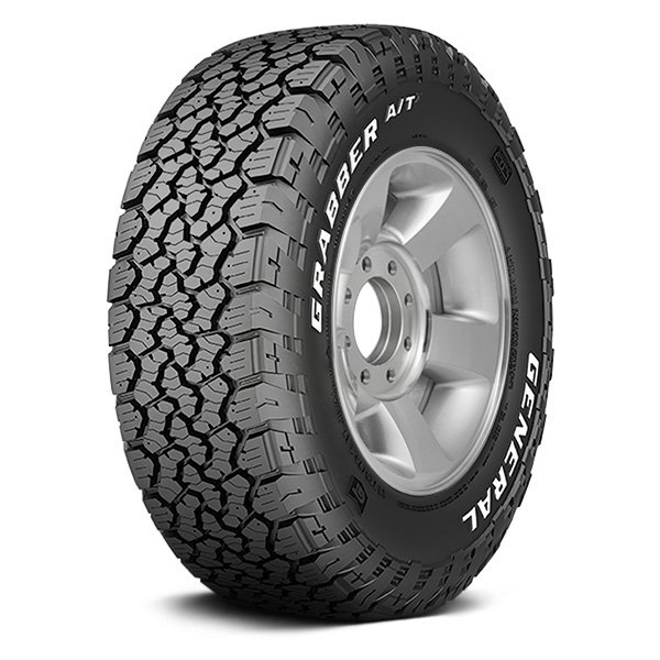 GENERAL® GRABBER A/TX WITH WHITE LETTERING Tires