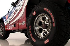 GENERAL® - GRABBER Tires on Ford Trophy Truck