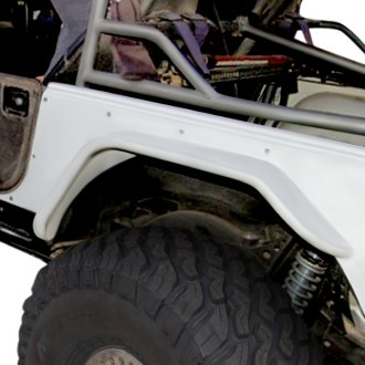 GenRight® - Extreme Style Rear Tube Fender Flares