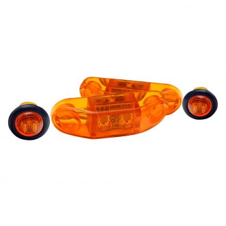 GenRight® - Stealth Series Amber LED Side Marker Lights