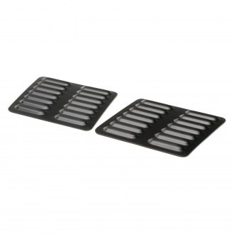 GenRight® - Black Powder Coated Hood Louver Kit
