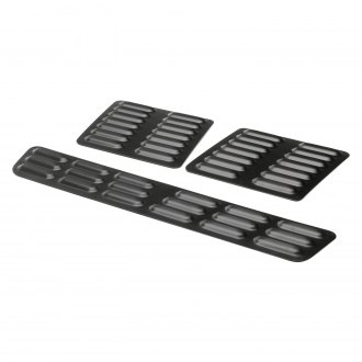GenRight® - Black Powder Coated Short Hood Louver Kit