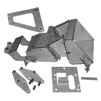 GenRight® - Single-TFF-2500-Hi-Fender Style Inner Fender Mounting Kit