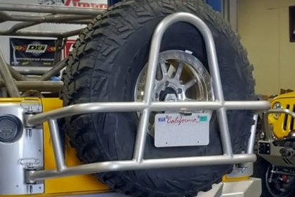 GenRight® Swing Out Tire Carrier Video (HD)