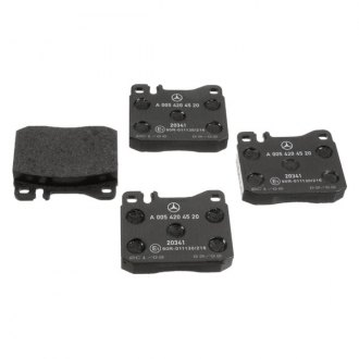 Genuine® - Semi-Metallic Disc Brake Pads