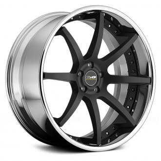 GFG® - F-2 Matte Black Center with Chrome Lip