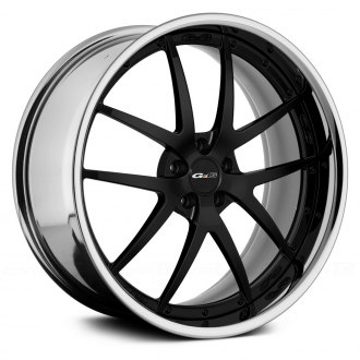 GFG® - FIORANO Black Center with Chrome Lip