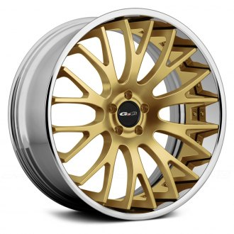 GFG® - G-2 Gold Center with Chrome Lip