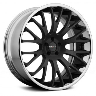 GFG® - G-2 Matte Black Center with Chrome Lip