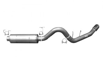 Gibson® - Swept Side™ Cat-Back Diesel Exhaust System