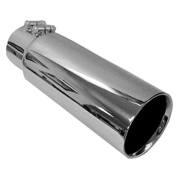 Gibson® - Polished Stainless Steel Round Dual Walled Intercooled Tip