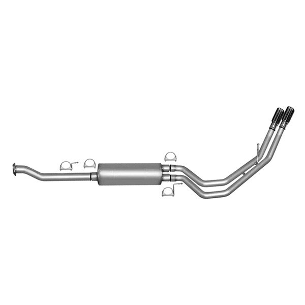Gibson® - Dual Sport™ Aluminized Steel Cat-Back Exhaust System