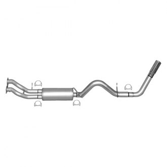 Gibson® - Swept Side™ Stainless Steel Cat-Back Exhaust System