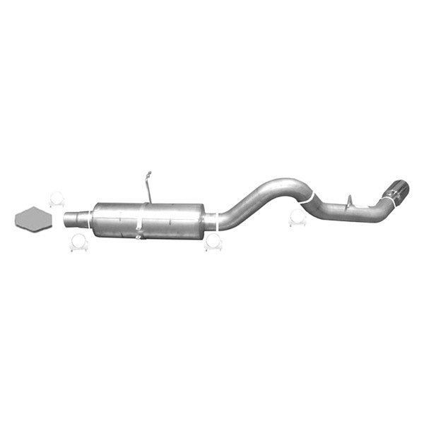 Gibson® - Swept Side™ Stainless Steel Diesel Cat-Back Exhaust System