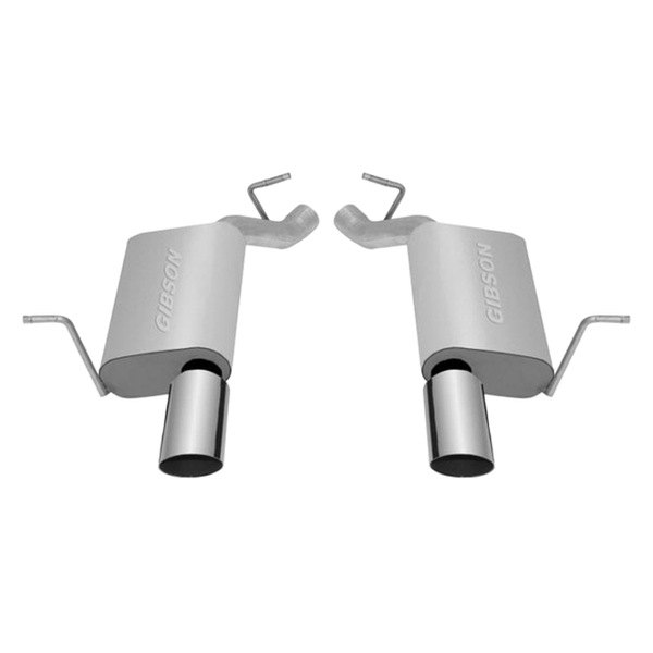 Gibson® - Split Rear™ Stainless Steel Axle-Back Exhaust System