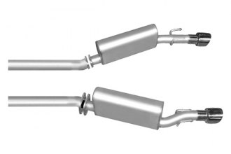 Gibson® - American Muscle Car™ Axle-Back Dual Exhaust System