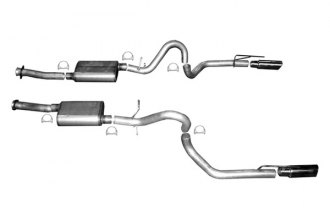 Gibson® - American Muscle Car™ Dual Cat-Back Exhaust System