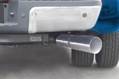 Gibson® - Swept Side™ Stainless Steel Cat-Back Diesel Exhaust System