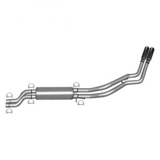 Gibson® - Dual Sport™ Dual Cat-Back Exhaust System