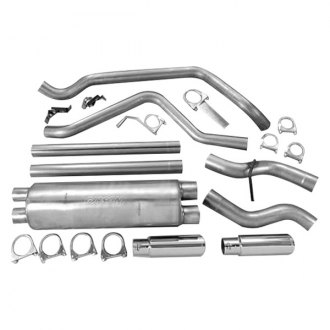Gibson® - Split Rear™ Stainless Steel Cat-Back Exhaust System
