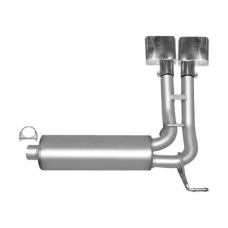 Gibson® - Super Truck™ Stainless Steel Cat-Back Exhaust System
