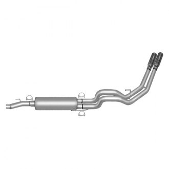 Gibson® - Dual Sport™ Stainless Steel Cat-Back Exhaust System