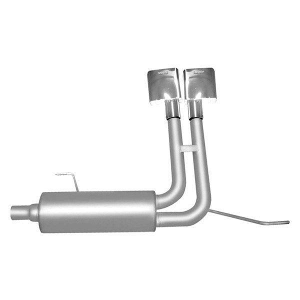 Gibson® - Super Truck™ Aluminized Steel Cat-Back Exhaust System