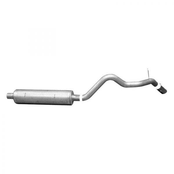 Gibson® - Swept Side™ Aluminized Steel Single Cat-Back Exhaust System