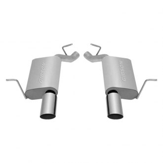 Gibson® - Split Rear™ Dual Axle-Back Exhaust System with Split Rear Exit