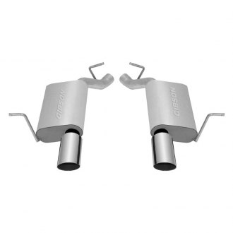 Gibson® - Split Rear™ Dual Axle-Back Exhaust System (Straight Out The Back Exit)
