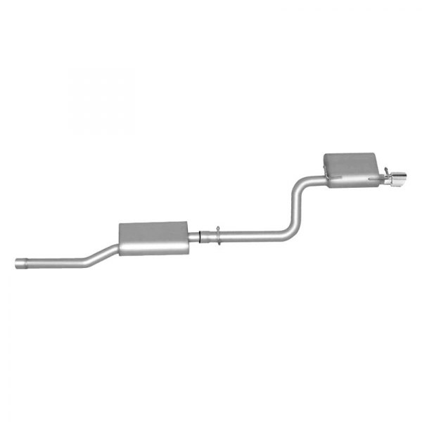 Gibson® - American Muscle Car™ Aluminized Steel Single Axle-Back Exhaust System