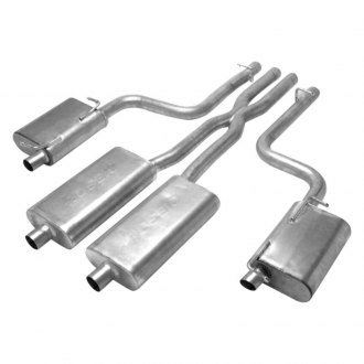 Gibson® - American Muscle Car™ Dual Cat-Back Exhaust System with Split Rear Exit