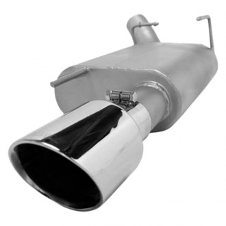 Gibson® - American Muscle Car™ Single Axle-Back Exhaust System with Single Rear Exit