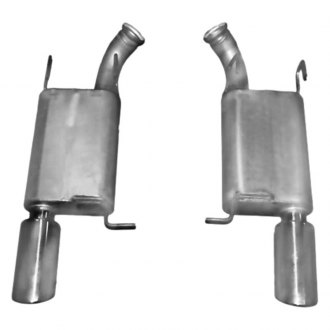 Gibson® - American Muscle Car™ Dual Axle-Back Exhaust System