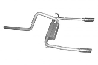 Gibson® - American Muscle Car™ Aluminized Steel Dual Cat-Back Exhaust System